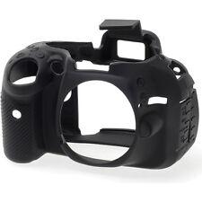 easyCover Protective Skin - Camera Cover for Nikon D5200 Camera (Black)