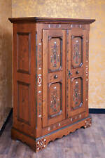 Voglauer Anno 1700 Landhaus Schrank Kleiderschrank Dielenschrank Massiv Antik
