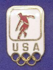 American Soccer Player Kicker USOC United States Olympic Committee Lapel Pin z3