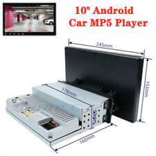 10'' Android Single Din GPS Navigation Bluetooth Universal Car Radio MP5 Player