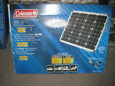 80 Watt 12 Volt Solar Crystalline Panel Camping Solar Power Panel Sun W/Inverter