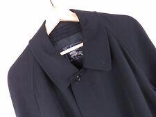 mh983 BURBERRYS'classique manteau original Premium fabriqué en Angleterre laine