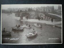 Skegness Boating Lake Lincolnshire RP Postcard