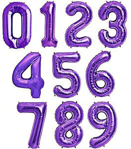 16'' 32'' 40'' Create your Special Numbers Party Balloons Decorations  Supplies