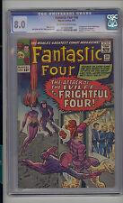 Fantastic Four #36 CGC 8.0 VF Marvel 1st Frightful Four 1st Medusa Inhumans OW/W