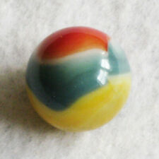 "Vitro Agate Marble Yellow Jacket Green Marbles 5/8"" NrMINT+"
