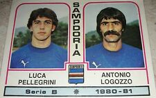 FIGURINA CALCIATORI PANINI 1980/81 SAMPDORIA N° 486 ALBUM 1981