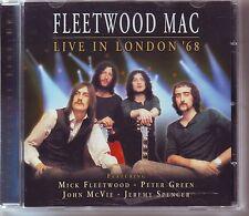 FLEETWOOD MAC  - ORIGINAL LINE UP LIVE IN LONDON '68  VGC