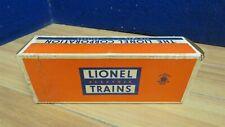 LIONEL POSTWAR O 6419-100 WORK CABOOSE BOX COMPLETE FLAPS 601634