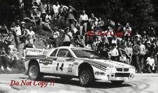 Attilio Bettega MARTINI LANCIA 037 RALLY TOUR DE CORSE RALLY 1983 fotografia 1