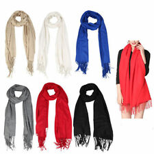Unbranded Acrylic Patternless Scarves & Wraps for Women