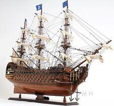 "37"" Long Royal Louis E.E Handcrafted Wooden Model Ship"