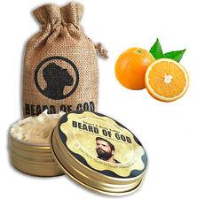 2.5oz FLORIDA ORANGE Beard Butter + Sack by BEARD of GOD™ | Organic & Handmade