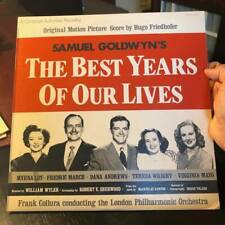 The Best Years Of Our Lives~Soundtrack Lp w/booklet + Bonus 45 Rpm Record! *