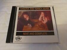 Sandra And Nancy Kerr - Neat And Complete - CD (1996) Folk