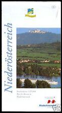 Verkehrskarte, Niederösterreich, 1996