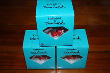 "NEW, BOXED Cutty Diamond Supply Co x Kidrobot 3"" inch Figure (Blue/Red)"