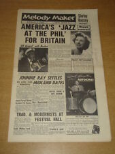 MELODY MAKER 1956 NOVEMBER 3 SHIRLEY BASSEY ELVIS PRESLEY JOHNNIE RAY JAZZ +