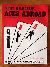 Ases en el extranjero-GURPS comodines-RPG-Steve Jackson-Kevin Andrew Murphy