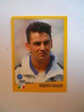 Figurina Stickers Calciatori ALBUM AZZURRI CON IP ROBERTO BAGGIO 1996 [AF]