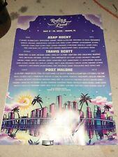 ROLLING LOUD MUSIC FESTIVAL 2020 Poster Concert Lineup Original Advertising Sign