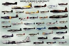 Safari Warld War II Aircraft Laminated Poster, NEW