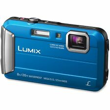 Panasonic Lifestyle Touch Camera Digital Waterproof Blue DMCTS30A