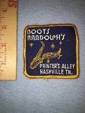 Boots Randolph Sax Patch
