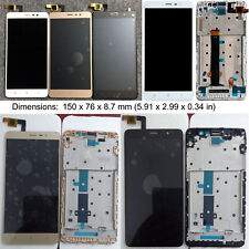 """LCD Display Digitizer Touch Screen Frame for Xiaomi Redmi Note 3 5.5"""" +tools+3M"""