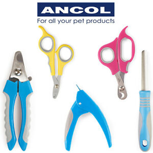 Ancol Nail Clippers Small Animal Cat Dog Grooming Claw Trim Scissors Nail File