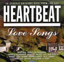 VARIOUS/HEARTBEAT-Love Songs - 30 Classic Original Hits From The 60S CD NEW