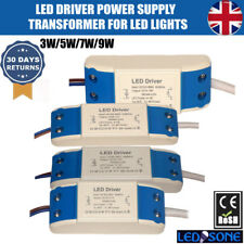 Constant Current LED Driver Power Supply Transformer 3W/5W/7W/9W Compact Driver