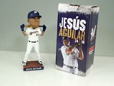 2019 Milwaukee Brewers Jesus Aguilar Bobblehead In Box