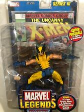 RARE NIP Toy Biz Marvel Legends Series III WOLVERINE Action Figure