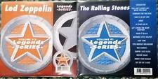 2 CDG LEGENDS KARAOKE DISCS LED ZEPPELIN & ROLLING STONES 1970'S OLDIES ROCK