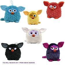 Furby 'Black, White, Blue, Yellow, Orange, Purple' Assorted 5 Inch Plush Soft To
