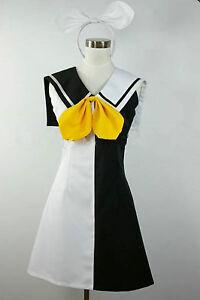 Vocaloid 'Rin' Kagamine Cosplay Costume Custom Any Size
