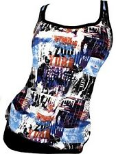 ZOO YORK by MARC ECKO graphic top tank t-shirt canotta maglietta donna M NWT