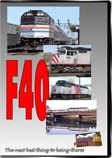 F40 DVD NEW Highball EMD Amtrak CSX Ski Train Caltrain ACE MBTA Metra UP