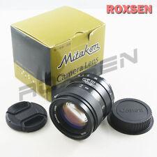 Mitakon 85mm F/2.0 Manual Focus Camera Lens for Canon Eos Ef mount 70D 6D 700D