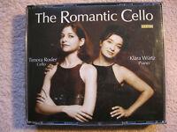 2 CD Box The Romantic Cello Chopin Max Bruch Bartok
