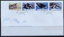 2009 Australia - WWF Australian Dolphins FDI  FDC