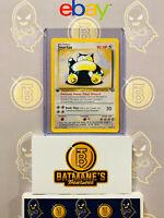 Snorlax 27/64 1st Edition NM Near Mint Jungle Set Rare Non-Holo Pokemon Card