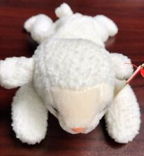 "TY Retired Beanie Baby ""FLEECE"" the Lamb - w/ Heart Tag Protector"