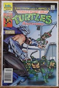 Teenage Mutant Ninja Turtles Adventures 2 Newsstand VF+/NM-