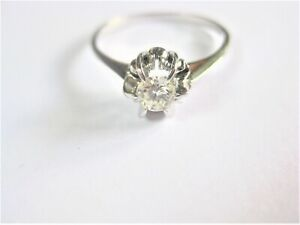Ring White Gold 750 With Brilliant, 2,07 G