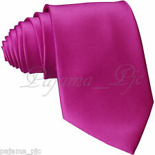 Fuchsia NEW Men's SelfTie Neck tie Tie Prom Formal Party Wedding Hot Pink