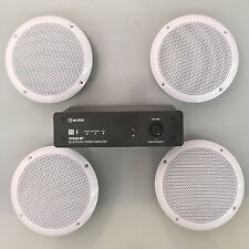 Bluetooth Ceiling Speaker 4 Waterproof Speakers Hi Fi Stereo 100 Watts (S50LWA)