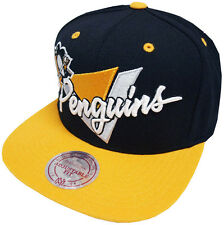 Mitchell & Ness Pittsburgh Penguins Snapback Cap NZ03Z Triangle script and