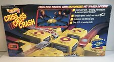 HotWheels Criss Cross Crash Track Set Racing Playset 4 Way Smash - 1992 Vintage.